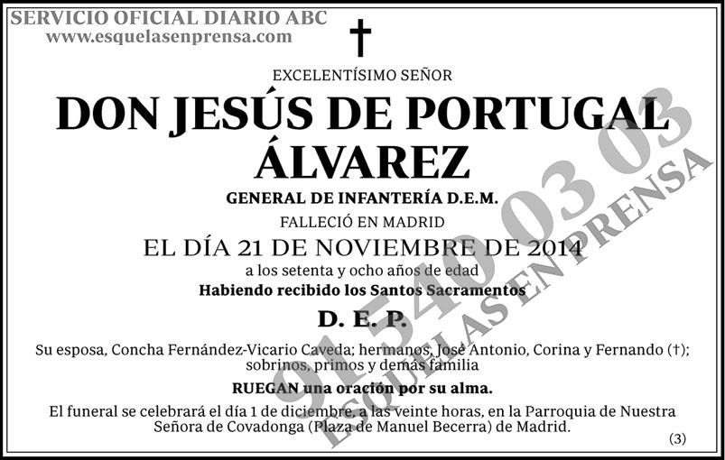 Jesús de Portugal Álvarez